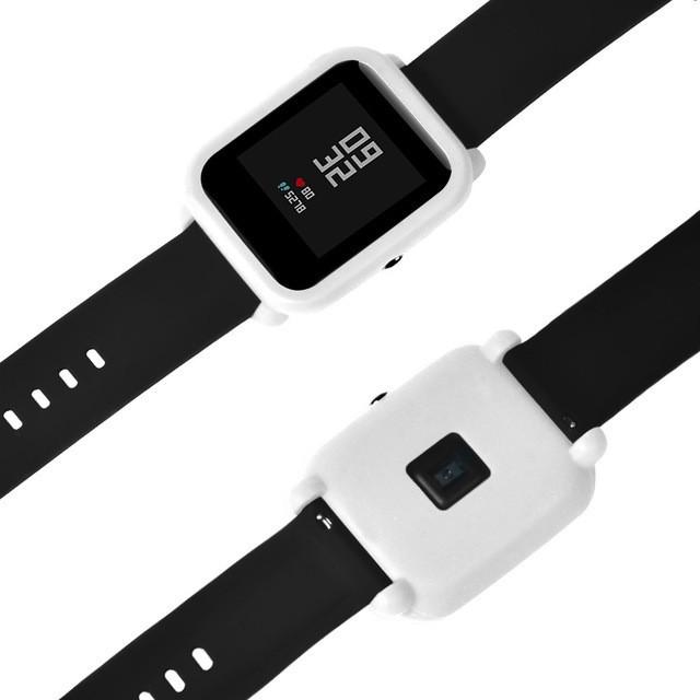 Чохол силіконовий для Xiaomi Amazfit Bip на весь корпус White (20248)