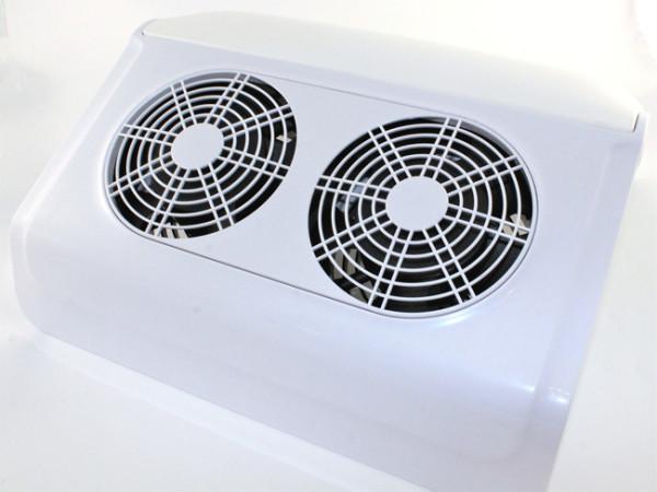 Вытяжка настольная маникюрная Simei 858-12 , 65Вт. (Пылесос) 2а вентилятора