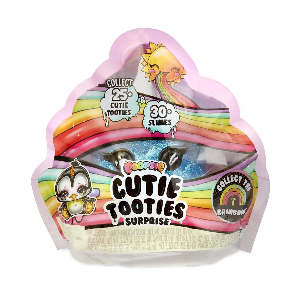 Игровой набор ЧУДО-СЮРПРИЗ W2 (со слаймом)Poopsie Cutie Tooties Slime & Mystery Character  MGA