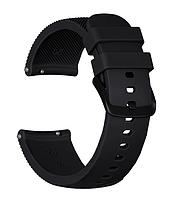Ремешок силиконовый  для Смарт-часов Xiaomi Amazfit Bip 20 мм Black (20573)