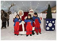 Санта-Клаус прибудет в горнолыжный комплекс Ski Dubai в Дубае