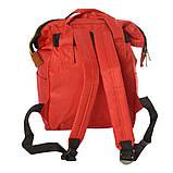Сумка-рюкзак MK 2877, красно-белый, фото 2