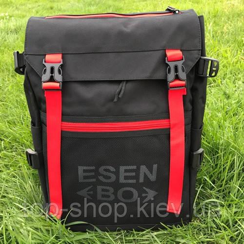 Міський та шкільний рюкзак ESENBO чорний