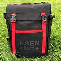 Міський та шкільний рюкзак ESENBO чорний, фото 1