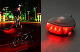 Вело фонарь велосипедная лазерная дорожка, фото 4