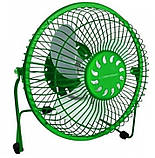 Вентилятор настольный USB Esperanza Yugo EA149R, зеленый, фото 2