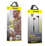 Бездротові Bluetooth-навушники Awei B930BL, чорні, фото 4