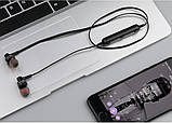 Беспроводные Bluetooth наушники Awei B980BL черные, фото 6