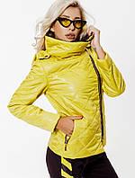 Стеганная модная куртка с капюшоном,женская-3 цвета, фото 1