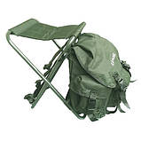 Стул-рюкзак складной FS 93112 RBagPlus RA 4401, зеленый, фото 2