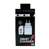 Сетевое зарядное устройство UKC Fast Charge AR 001 c 3 USB портами, фото 6