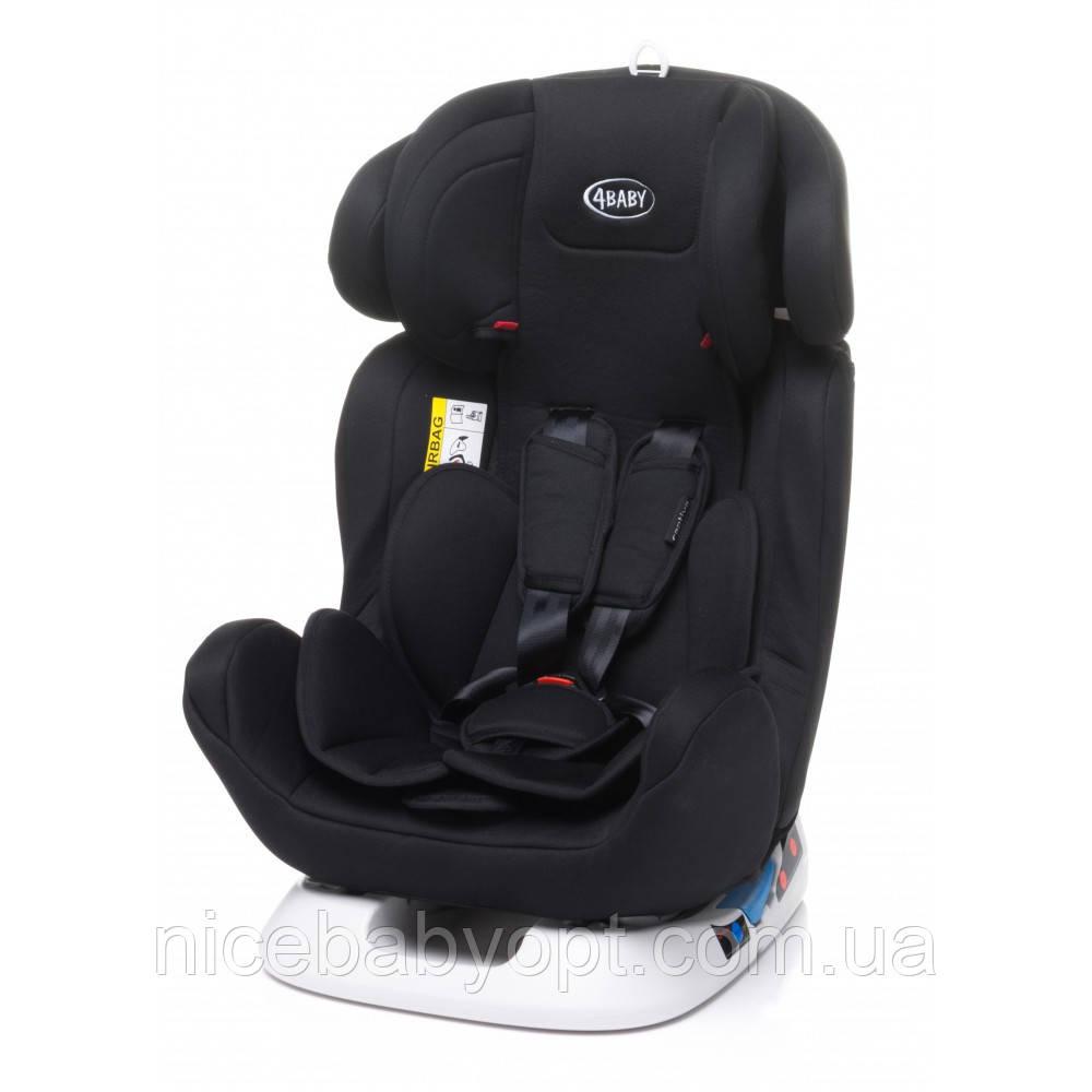 Дитяче автокрісло 4Baby Captiva 0-36 кг Black