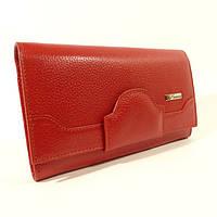 Кожаный женский кошелек Desisan 128 красный, расцветки в наличии, фото 1