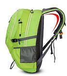 Рюкзак городской xs-0616 салатовый, 40 л, фото 4