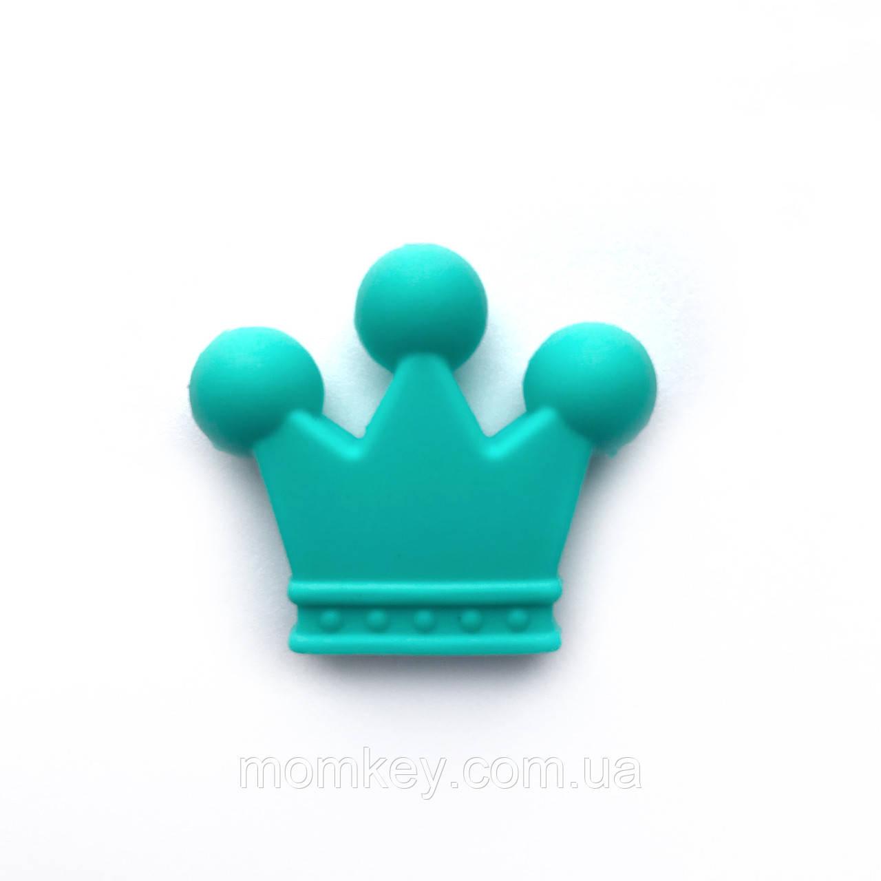 Корона 35*30*7 мм (бирюза)