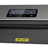 Портативная Bluetooth колонка Awei Y600, черная, фото 3
