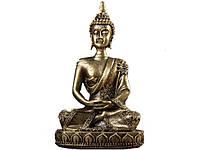 Статуэтка в виде сидящего Будды  Бронза