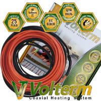 Коаксиальный нагревательный кабель Volterm HR 12
