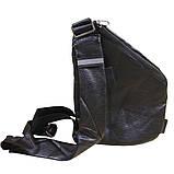 Сумка-кобура через плечо CrossBody 4634, черная, фото 2