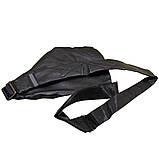 Сумка-кобура через плечо CrossBody 4634, черная, фото 4