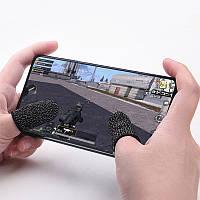 1 пара мобільні напальчники чорні Seuno v1 для Pubg mobile
