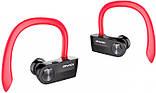 Вакуумні Bluetooth навушники Awei T2, червоні, фото 3