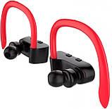 Вакуумні Bluetooth навушники Awei T2, червоні, фото 4