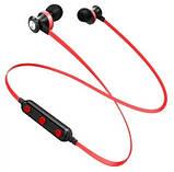 Бездротові Bluetooth-навушники Awei B990BL, червоні, фото 2