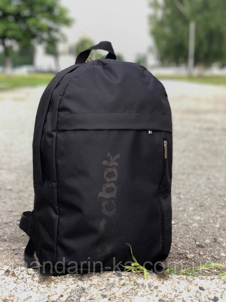 Рюкзак городской Reebok Рибок черный   (реплика)