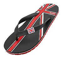Шлепки BITIS с флагом Великой Британии