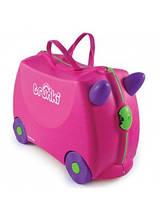 Детский чемодан на колесах Trunki Транки Trixi