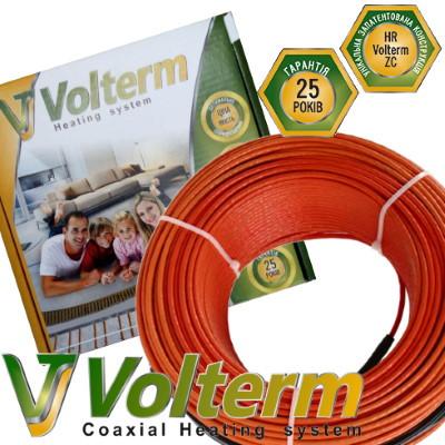 Коаксиальный нагревательный кабель Volterm HR 12 1400