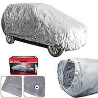 Тент автомобильный для седана 3 слоя + вентиляция Carpoint Tybond S (CC 14306H) 406х150х116