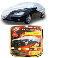 Тент автомобильный для седана + карман под зеркало/замок L 483х178х120 Milex СС0912