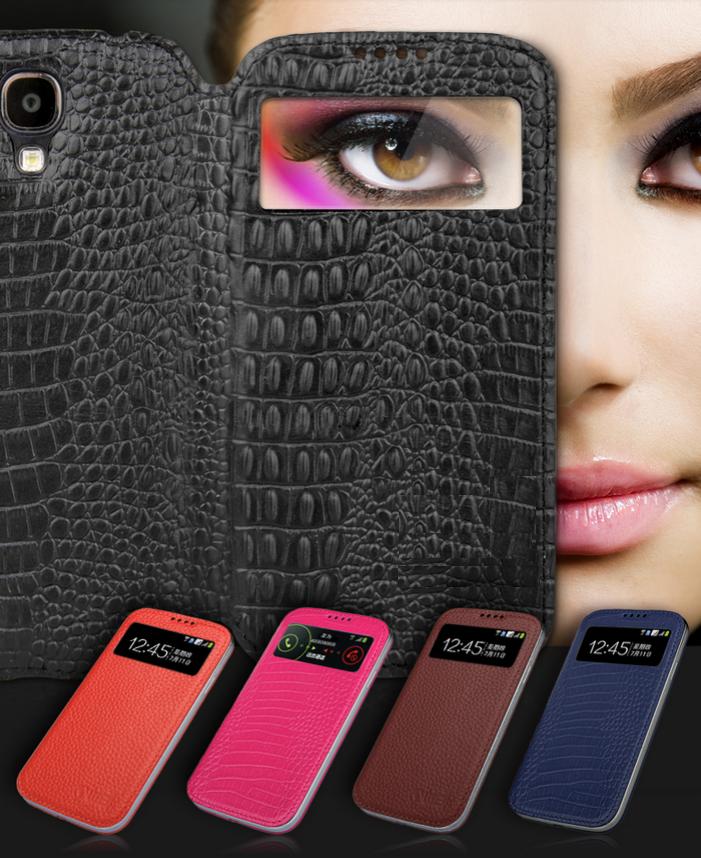 "Samsung i9500 S4 GALAXY SMART чехол книжка  НАТУРАЛЬНАЯ ТЕЛЯЧЬЯ КОЖА  для телефона  ""WEI SMART MALL """