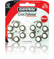 Батарейки для кохлеарных имплантов Rayovac Cochlear Advanced, 12 шт.