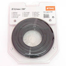Косильна струна кругла малошумна Stihl 3,3 мм х 24 м