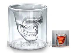 Стакан-для виски Череп 3D