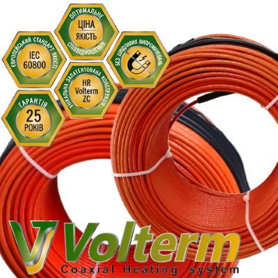 Коаксиальный нагревательный кабель Volterm HR18 1900