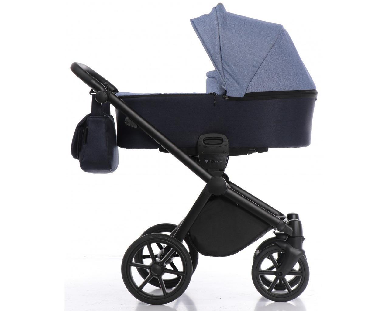 Дитяча коляска 2 в 1 Invictus V-Dream Navy blue
