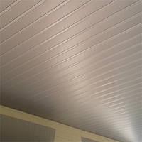 Реечный алюминиевый подвесной потолок: металлик, любые размеры