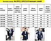 Костюм классика пиджак+брюки двойка клетка на мальчика костюмная ткань 140,146, фото 4