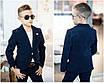 Костюм школьная форма пиджак+брюки для мальчика вильвет 122-128,128-134,134-140,140-146,146-152, фото 2