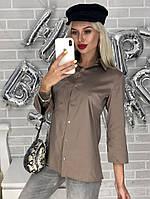 Женская рубашка стильная стрейч 42-46 рр., фото 1