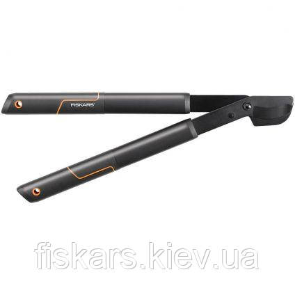 Малый плоскостной сучкорез Fiskars с загнутыми лезвиями SingleStep™ 112160 (1001432)