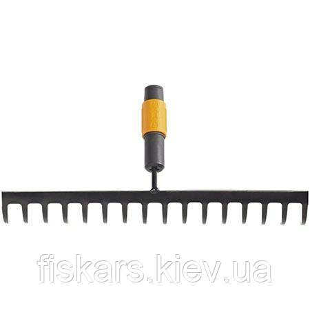 Грабли для грунта 16 зубьев Fiskars QuikFit (135512)