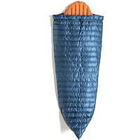 Спальник-ковдра пуховий Turbat Polonyna синій