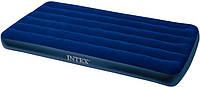 Надувной ортопедический матрас intex 68757 classic downy bed 191х99х22 см hn ri kk