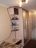 Набор мебели в детскую комнату(шкаф-купе,кровать )