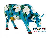 Коллекционная статуэтка корова Cowalina Dogwood